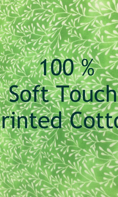 Printed 100% Soft Touch Cotton