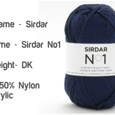 Sirdar No.1 Double Knitting Beautifully Soft Yarn