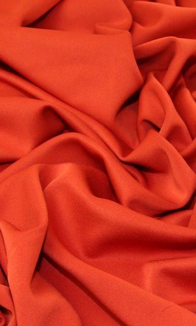 bright red scuba fabric
