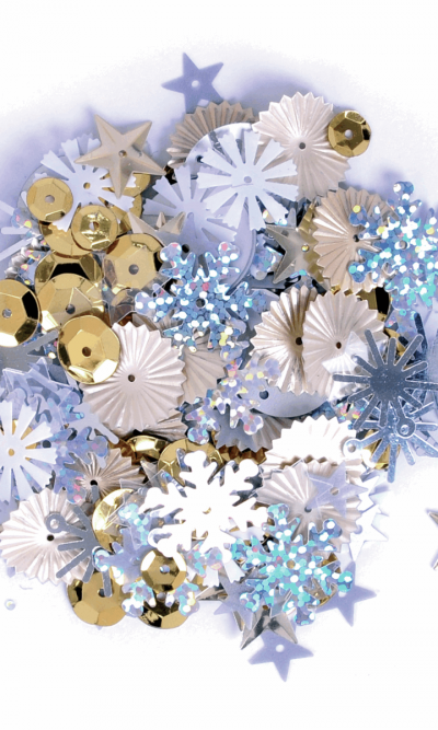 Sequins-mixed-silver-gold-20g