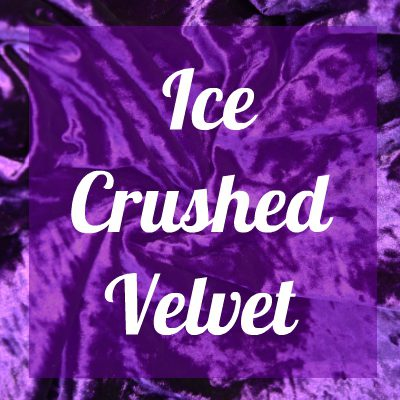 ICE CRUSHED VELVET