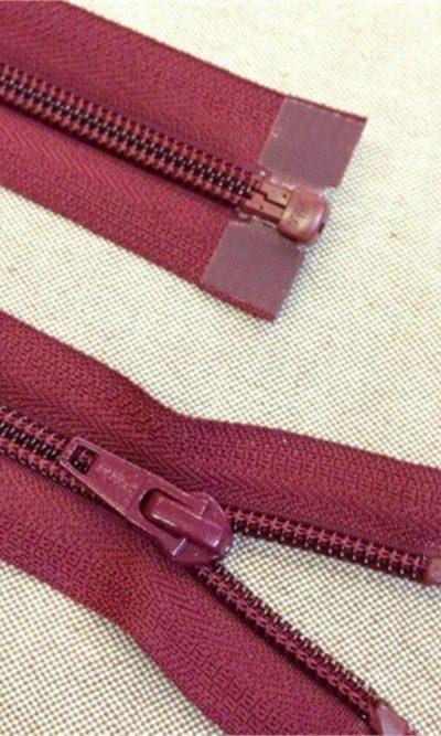 12-30cm-magenta-pink-closed-end-dress-zip