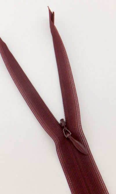 16-41cm-red-wine-invisible-concealed-zip
