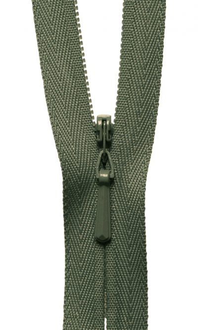 16-41cm-olive-green-invisible-concealed-zip
