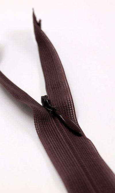 9-23cm-brown-invisible-concealed-zip