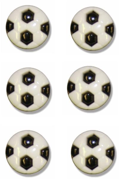 football-button-black-colour