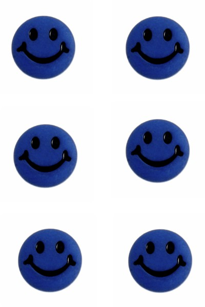 smiley-face-button-royal-blue-colour