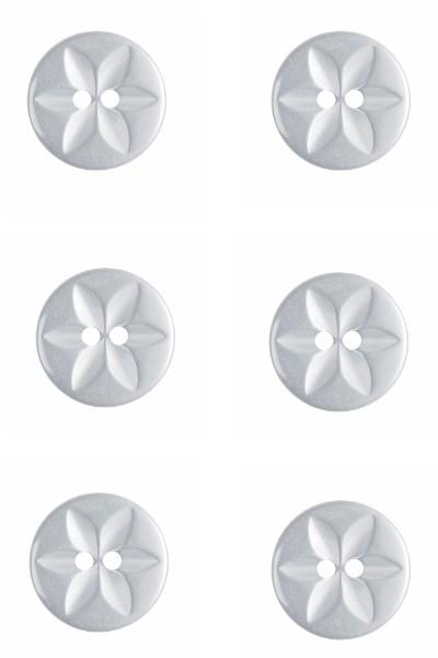flower-fisheye-button-round-white-colour