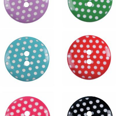 Polka Dots Button