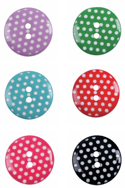 Polka Dots Button