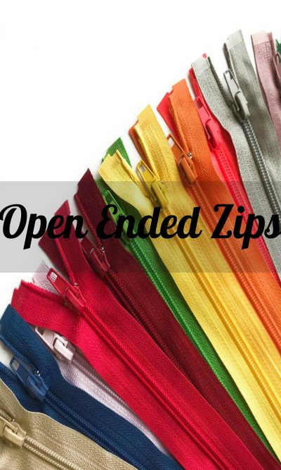 Open Ended Zip