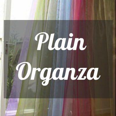 Plain Organza