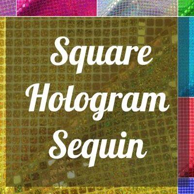 Square Hologram Sequin