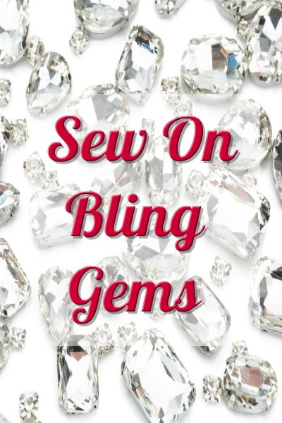 Sew on Bling Gems