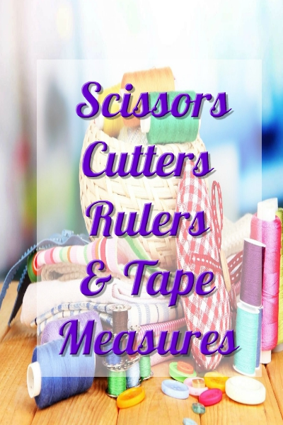 Scissors, Cutters, Rulers And Tape Measures