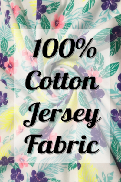 100% Cotton Jersey Fabrics