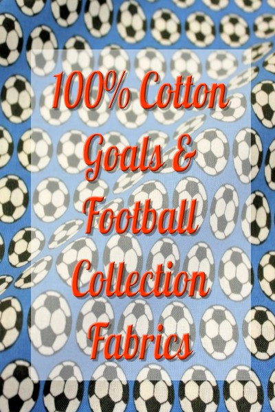 Goals & Footballs Collection Fabrics