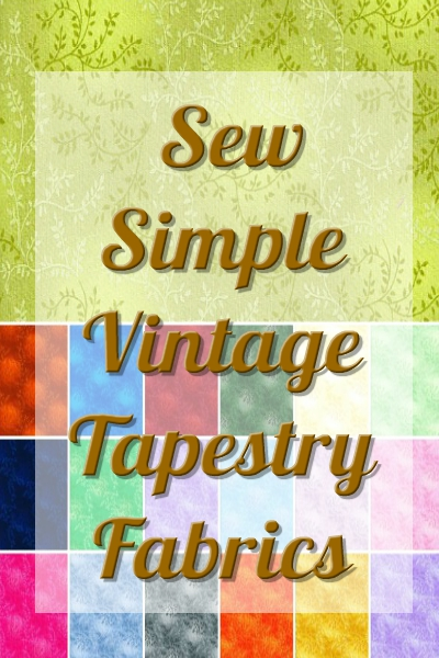Sew Simple - Vintage Tapestry Fabric