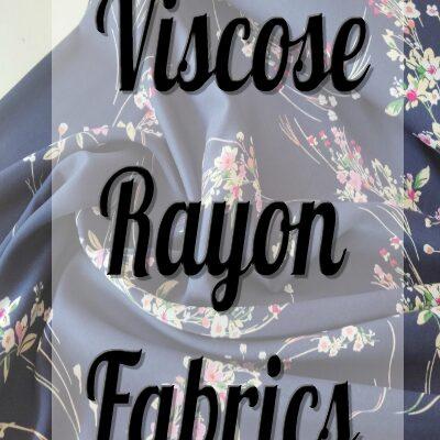 VISCOSE RAYON FABRICS