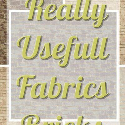 Really Useful Fabrics Bricks