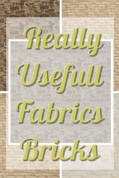 Really Useful Fabrics Bricks