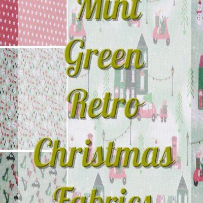 Mint Green Retro Christmas