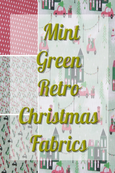 Mint Green Retro Christmas