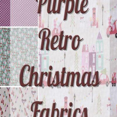 Purple Retro Christmas