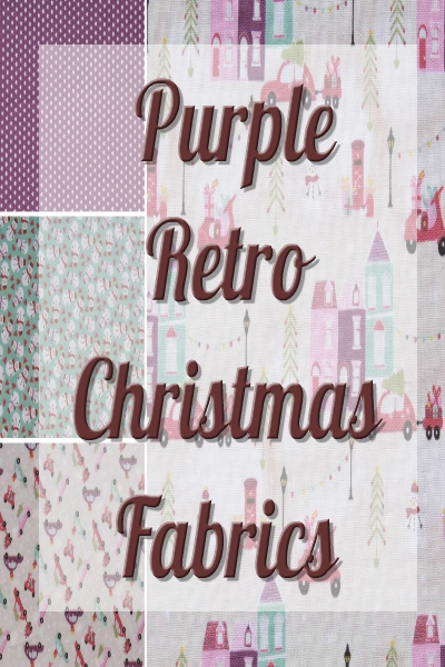 Purple Retro Christmas