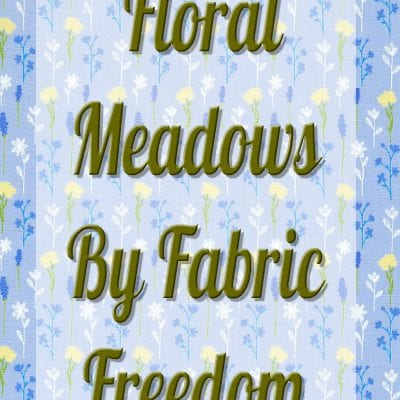 Floral Meadows by Fabric Freedom