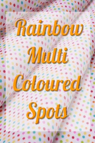 Multicoloured Spots 2mm / 5mm / 2cm
