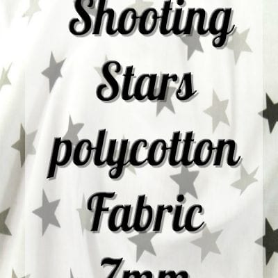 Shooting Stars Polycotton Fabric 7mm