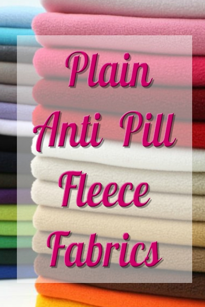 PLAIN ANTI PIL FLEECE