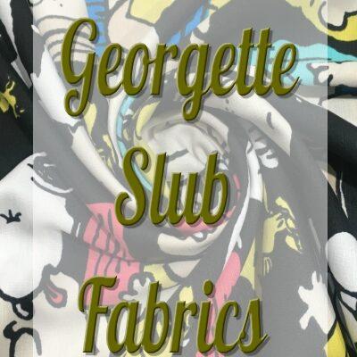 Georgette Slub Fabrics
