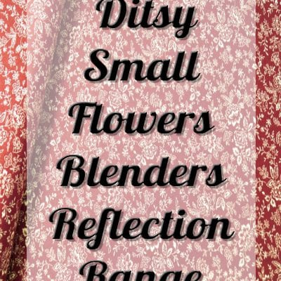 Ditsy Small Flowers Blenders Reflection Range