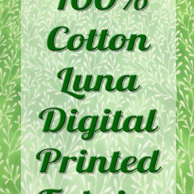 LUNA DIGITAL PRINT 100% COTTON FABRIC