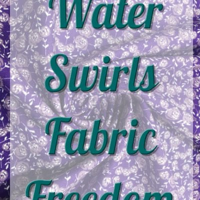 Fabric Freedom - Watercolour Swirls