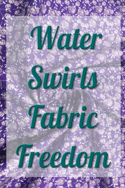 Fabric Freedom - Watercolour Swirls