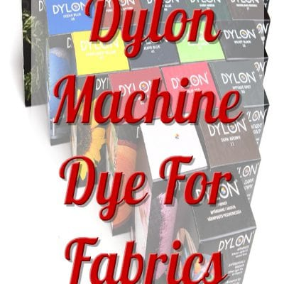 DYLON MACHINE DYE FOR FABRICS