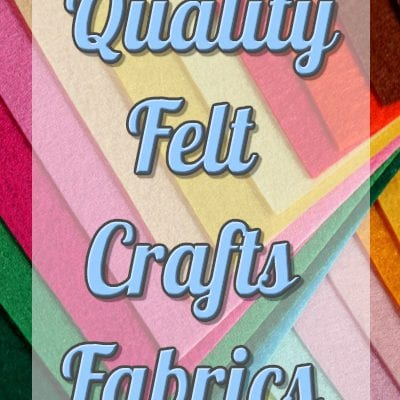 Felt Crafts Fabrics