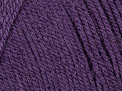 Aubergine 100% Acrylic Wool/Yarn Pricewise Double Knitting King Cole -Code (0363284) 100g
