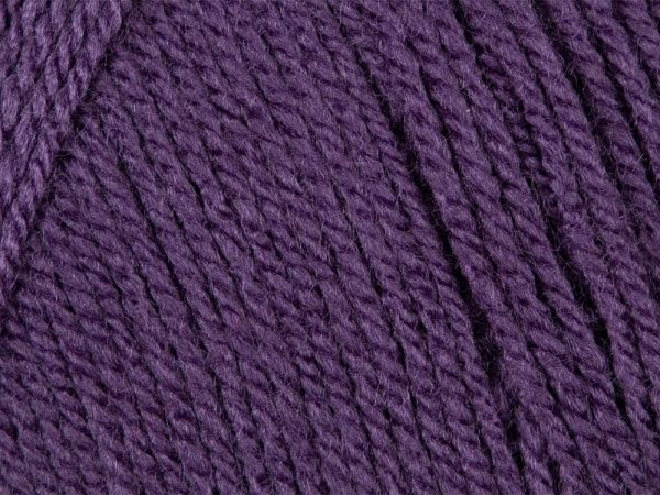 Aubergine 100% Acrylic Wool/Yarn Pricewise Double Knitting King Cole -Code (0363284) 100g