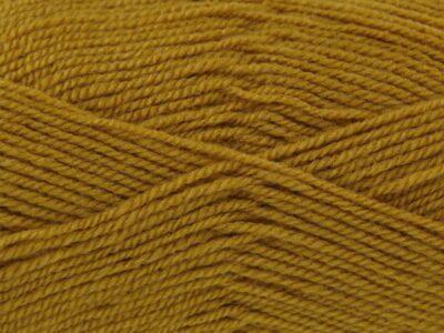 Mustard 100% Acrylic Wool/Yarn Pricewise Double Knitting King Cole - Code (0361740) 100g