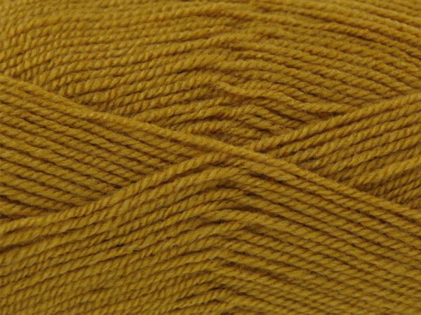 Mustard 100% Acrylic Wool/Yarn Pricewise Double Knitting King Cole - Code (0361740) 100g